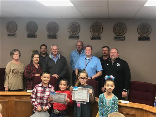Elementary Bulldogs of the Month