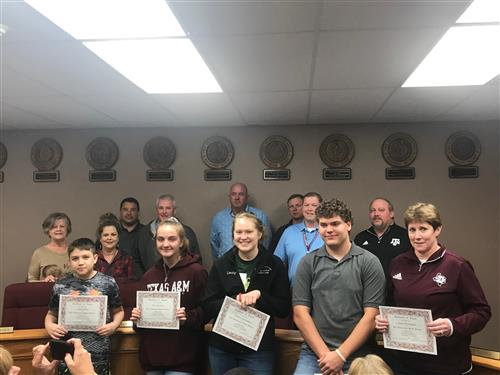 Bulldogs & Employees of the Month